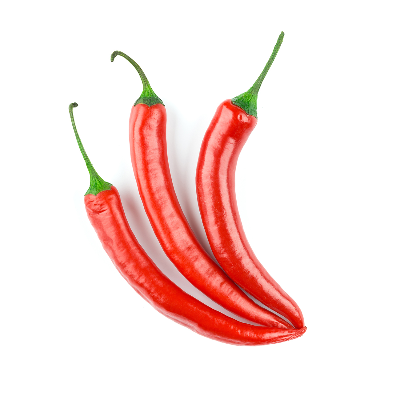 Chillies, red